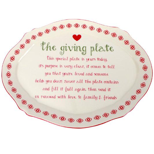 The Giving Christmas Platter
