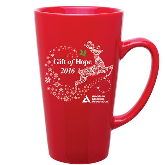 Prancing Reindeer Latte Mug